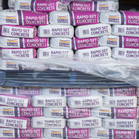Cement supplies, Drysdale