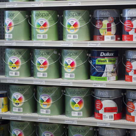 Drysdale paint supplies