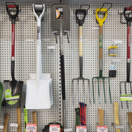 Garden tools at Drysdale Home Timber & Hardware